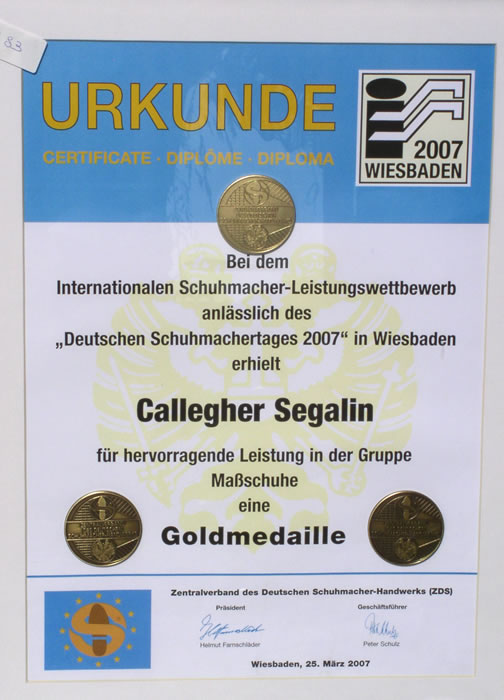 premio Segalin in Germania